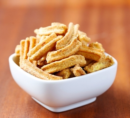 Soy Crisps Honey & Mustard