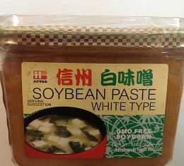Soy Bean Paste White (500g)